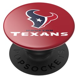 Popsockets - Popgrips Nfl Licensed Swappable Device Stand And Grip - Houston Texans Logo Gloss