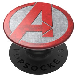 Popsockets - Popgrips Licensed Swappable Device Stand And Grip - Avengers Red Icon