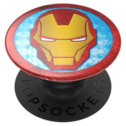 Popsockets - Popgrips Licensed Swappable Device Stand And Grip - Iron Man Icon
