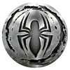 Popsockets - Popgrips Licensed Swappable Device Stand And Grip - Spider-man Monochrome Image 1