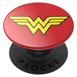Popsockets - Popgrips Licensed Swappable Device Stand And Grip - Wonder Woman Icon
