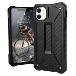 Urban Armor Gear (uag) - Monarch Case For Apple Iphone 11 - Carbon Fiber