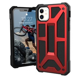 Apple Urban Armor Gear Monarch Case - Crimson And Black  111711119494