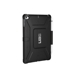 Urban Armor Gear (uag) - Metropolis Folio Wallet Case For Apple Ipad Mini 5th Gen / Ipad Mini 4 - Black