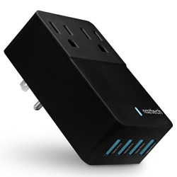 Naztech Fast Multi-Device Charger - Black