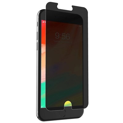 ZAGG - InvisibleShield Glass Plus Glass Screen Protector for Apple iPhone Xs / X - Privacy