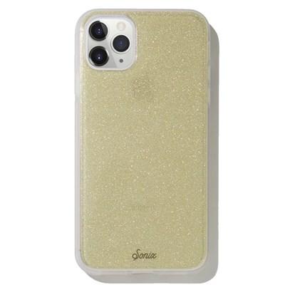 Apple Sonix - Clear Coat Case - Gold Glitter