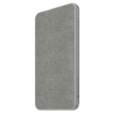 Mophie - Powerstation Mini Power Bank 5,000 Mah - Gray