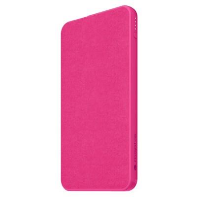 Mophie - Powerstation Mini Power Bank 5,000 Mah - Hot Pink