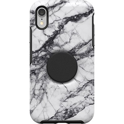 Apple Otterbox Pop Symmetry Series Rugged Case - White Marble  77-61727