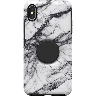 Apple Otterbox Pop Symmetry Series Rugged Case - White Marble  77-61747