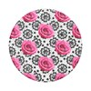 Popsockets - Popgrips Swappable Nature Device Stand And Grip - Boudoir Rose Image 2