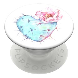 Popsockets - Popgrips Swappable Nature Device Stand And Grip - Succulent Heart