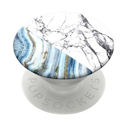 Popsockets - Popgrips Swappable Nature Device Stand And Grip - Aegean Marble