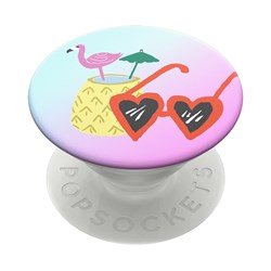 Popsockets - Popgrips Swappable Nature Device Stand And Grip - Poolside