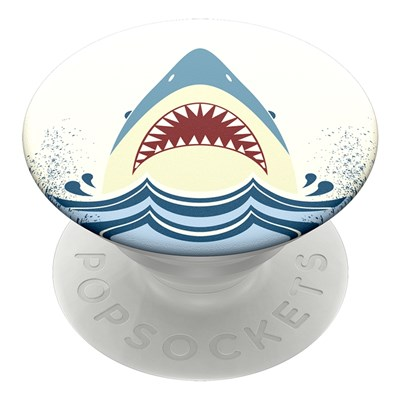 Popsockets - Popgrips Swappable Nature Device Stand And Grip - Shark Jump