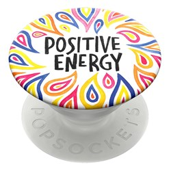 Popsockets - Popgrips Swappable Abstract Device Stand And Grip - Positive Energy
