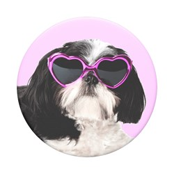 Popsockets - Poptops Swappable Device Stand And Grip Topper - Sassy Shih Tzu