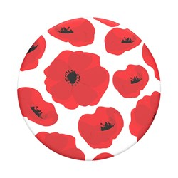 Popsockets - Poptops Swappable Device Stand And Grip Topper - Scandi Poppies