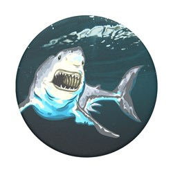 Popsockets - Poptops Swappable Device Stand And Grip Topper - Great White