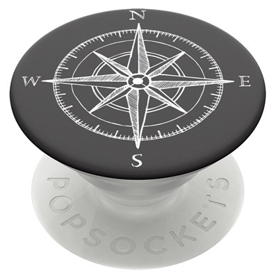 Popsockets - Popgrips Icon Swappable Device Stand And Grip - Compass