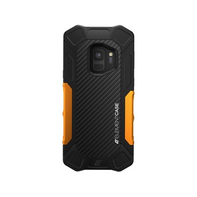 Element Case Formula Rugged Case for Galaxy S9 Plus - Orange and Black