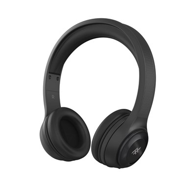 Ifrogz - Toxix Over Ear Bluetooth Headphones - Black
