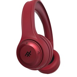 Ifrogz - Toxix Over Ear Bluetooth Headphones - Red