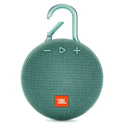 Jbl - Clip 3 Waterproof Bluetooth Speaker - Teal