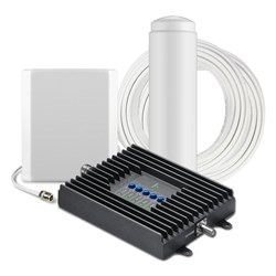 SureCall Fusion4Home Cell Phone Signal Booster - Omni Antenna with Indoor Panel Antenna