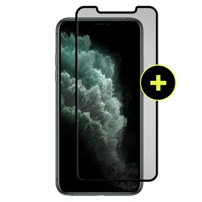 Gadget Guard - Black Ice Plus Cornice Flex Screen Protector For Apple iPhone 11 Pro Max - Clear