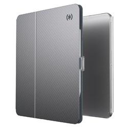 Speck - Balance Folio Case For Apple Ipad Pro 11 (2020 / 2018) - Clear And Gunmetal Grey