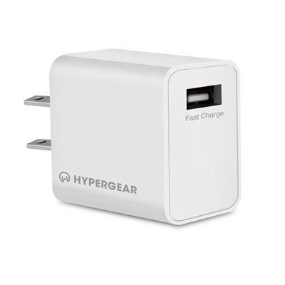 HyperGear Single USB Fast Charge Wall Charger - UL Certified