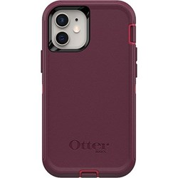 Apple Otterbox Defender Rugged Interactive Case and Holster - Berry Potion Pink 77-65354