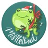 Popsockets - Popgrips Icon Swappable Device Stand And Grip - Mistletoad Image 1