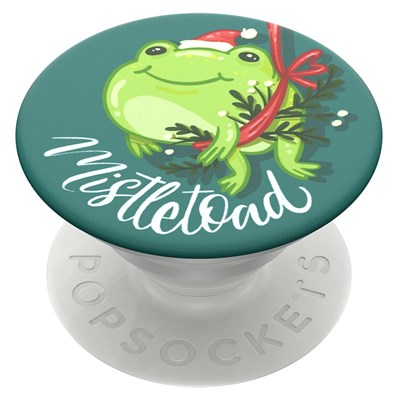 Popsockets - Popgrips Icon Swappable Device Stand And Grip - Mistletoad