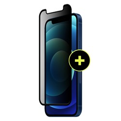 Gadget Guard - Black Ice Plus Flex Privacy Screen Protector For Apple iPhone 12 Mini - Privacy