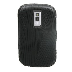 Blackberry Compatible Silicone Grip Cover - Black  10019NZ