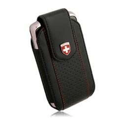 Swiss Leatherware Glacier Case - Black  10183nz
