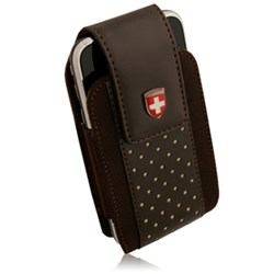 Swiss Leatherware Alps Holster - Brown  10269NZ