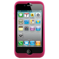 Apple Compatible Naztech Silicone Cover - Pink
