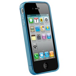 Apple Compatible Naztech TPU Wave Cover - Translucent Blue
