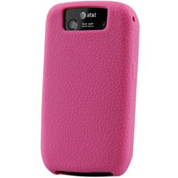 Blackberry Compatible Naztech Silicone Cover - Textured Pink