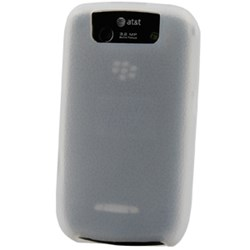 Blackberry Compatible Naztech Silicone Cover - Textured Clear
