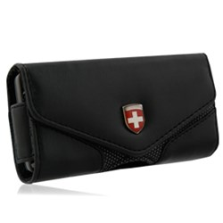 Swiss Leatherware Lugano - Black  10158