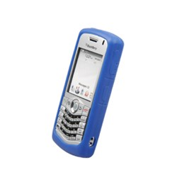 Blackberry Compatible Naztech Silicone Cover - Blue 9957NZ