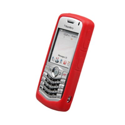 Blackberry Compatible Naztech Silicone Cover - Red  9958NZ