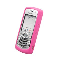 Blackberry Compatible Naztech Silicone Cover - Pink  9959NZ