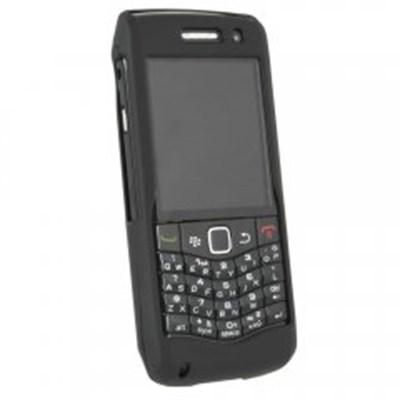 Blackberry Compatible Rubberized Protective Shield - Black  BB9100RUBBK