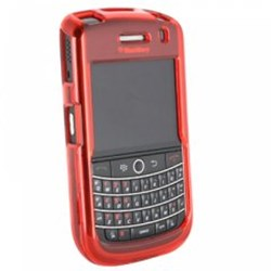 Blackberry Compatible Protective Shield - Red  BB9630COVRD